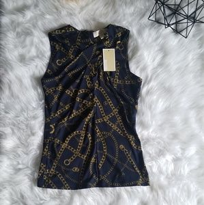 Michael Kors Top True Navy